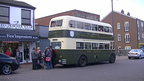 It is Stalybridge but a special occasion bus from derby hired for proms etc