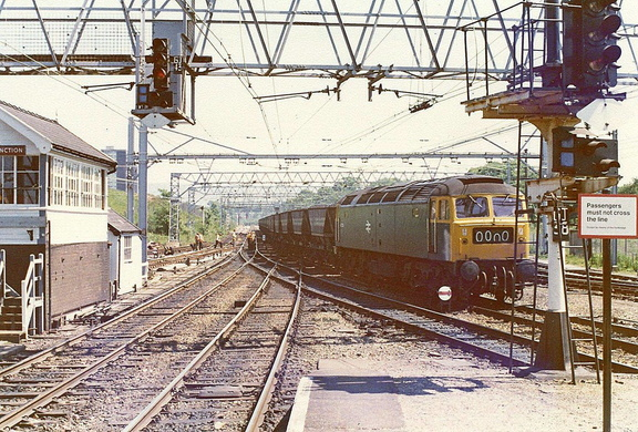 Godley Junction 21.6.1977 47353