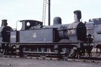 Johnson Class 1F 0-6-0T 41702 at Gorton shed