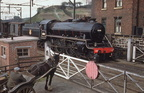 B1, 61188 at Dinting Crossing, Derbyshire - as posted by Dereck Elvidge on British Railways Un-named Steam Locomotives 1948-68