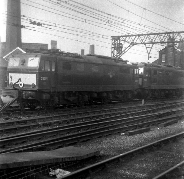 26001 & 26048 Hector at Guide Bridge, 7th June 1963.