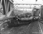 Accident at Guide Bridge Railway Station 1950s 4