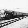 Woodhead Valehouse 18.9.1946. 2850 Grimsby Town  on a passenger train.