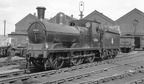 65166 at Gorton works 1955