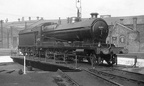 Gorton shed undated O4 63912 on the turntable