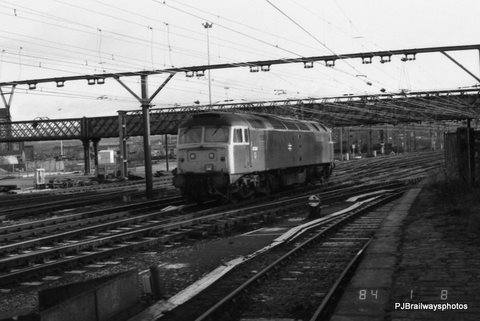 47014 Guide Bridge Woodhead Route 29-11-1983