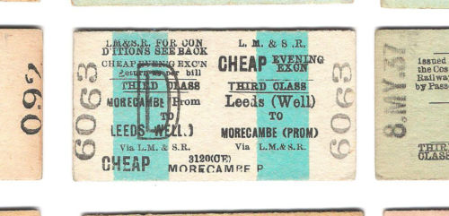 Leeds To Morecambe Ticket