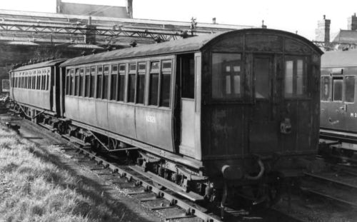 Morecambe Electric 1952 at Morecambe