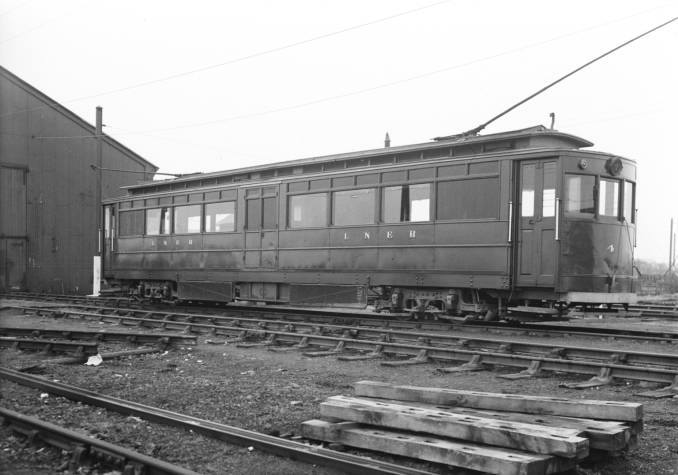 2-The LNER's Grimsby and Immingham Electric Railway tram number 4, about 1930