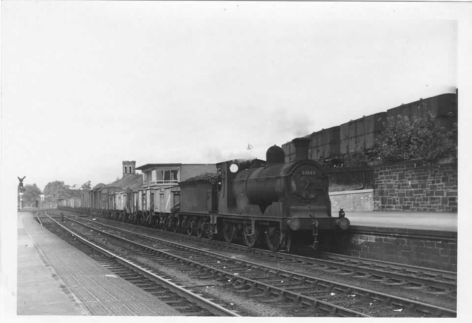1-8-61. 57577 at Dumfries