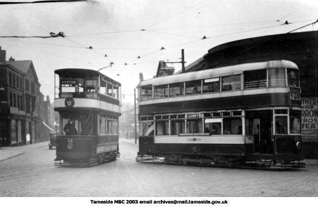 Tram 12 about 1936