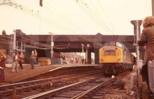 40161 LVR Railtour Guide Bridge Oct'77
