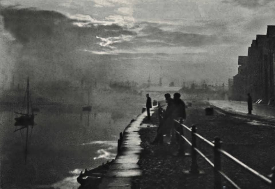 A very atmospheric St George's Quay. c 1900