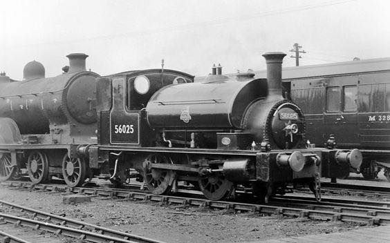 31-5-50. 56025 was the St. Rollox works shunter