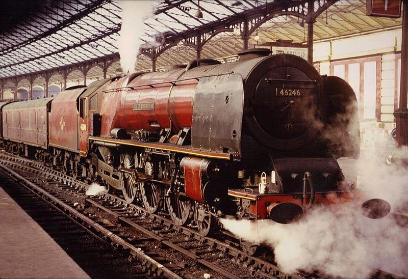 46246 City of Manchester at Euston, early 1960's.