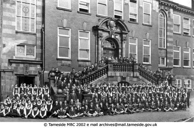Hyde Grammar School - undated.